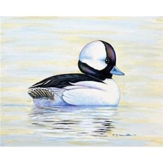 Betsy Drake DM827 18 x 26 in. Bufflehead Duck Doormat