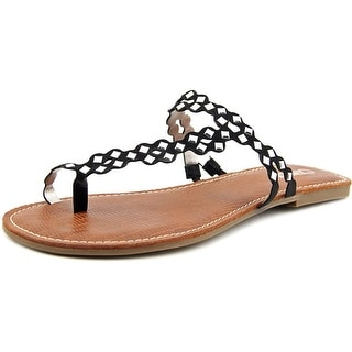 Carlos by Carlos Santana Shelby Women  Open Toe Synthetic Black Thong Sandal