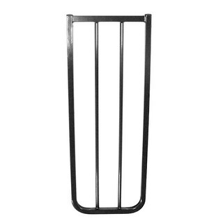 Pet Gate Extension - 10.5 Inches - Black