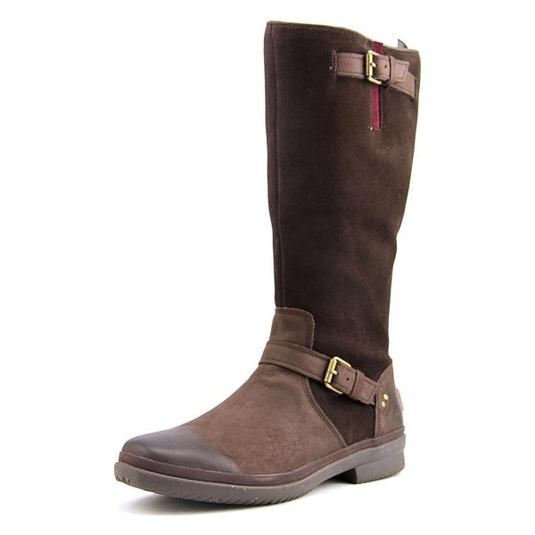 Ugg Australia Thomsen Round Toe Leather Knee High Boot