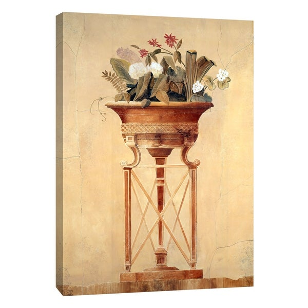 """PTM Images 9-105332 PTM Canvas Collection 10"""" x 8"""" - """"Floral Empire I"""" Giclee Flowers Art Print on Canvas"""