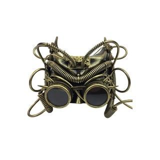 Black//Gold The Steampunk Crusader Mask
