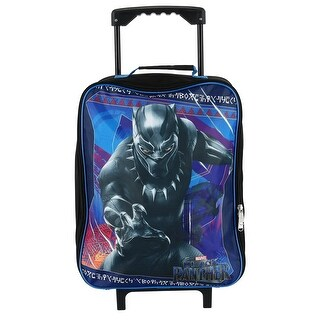 Marvel Kids' Black Panther Rolling Luggage - One size