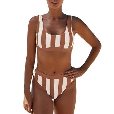 Striped Bikini Set Two Piece Swimsuit 411757