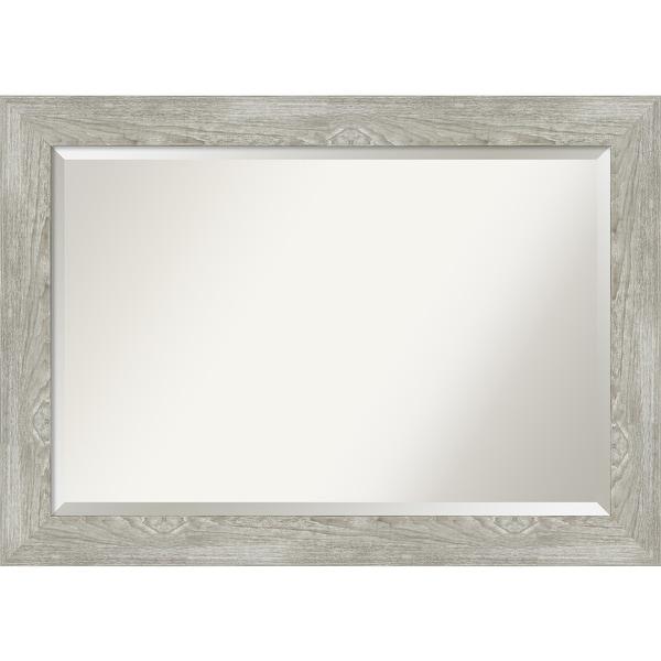 Dove Greywash Bathroom Vanity Wall Mirror. Opens flyout.