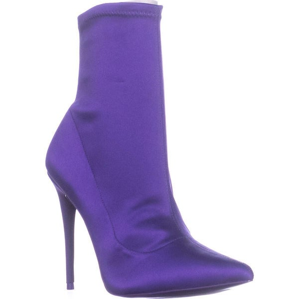 Aldo Cirelle Pointed Dress Heeled Booties, Lilac