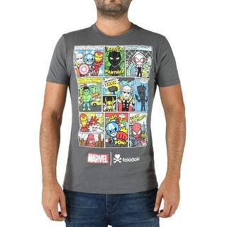 Tokidoki Marvel Character Comic 2017 Men's T-Shirt