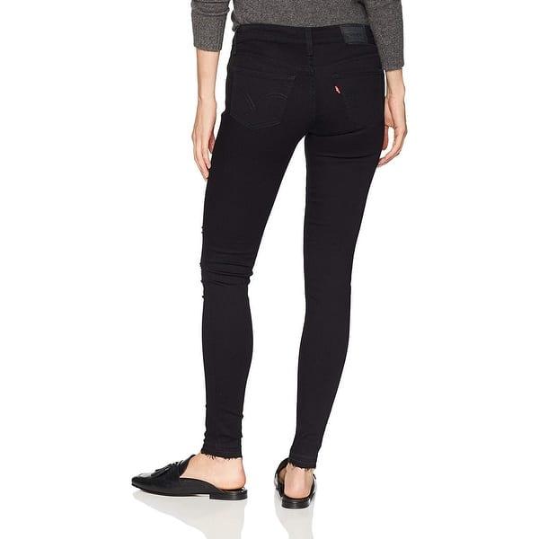 Levi's Women's Navy Blue 535 Super Skinny Jeans