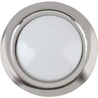 IQ America Slvr Lighted Push-Button DP-1103A Unit: EACH