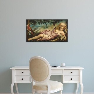 Easy Art Prints 's 'Summer' Premium Canvas Art