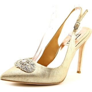 Badgley Mischka Sansa II Women Pointed Toe Suede Heels