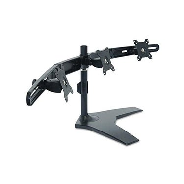"""Planar Systems 997-6035-00 Triple Monitor Stand, Taa Compliant, Supports Lcd Monitor 15"""" Up To 24"""" And Under 17.6 Lb. Pe"""