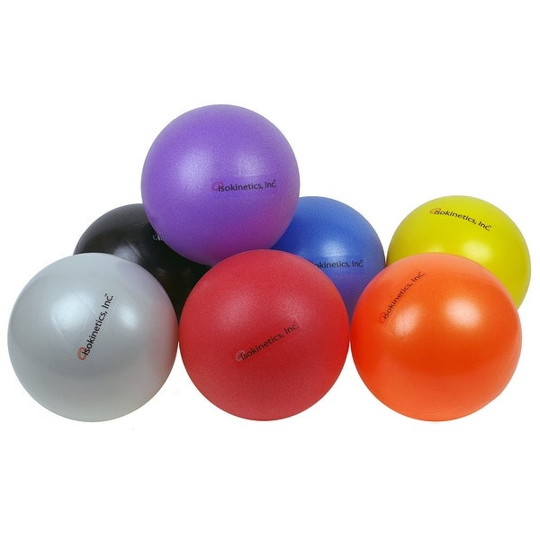 "Isokinetics Inc. Brand Mini Exercise Ball - 25cm (7"" to 9"") - Choice of Colors - Sold Individually"