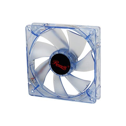 Rosewill RFA-120-BL Blue LED Sleeve Bearing 120mm PC Computer Case Fan