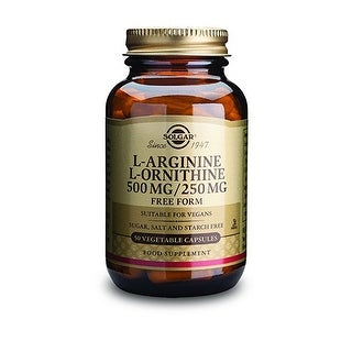Solgar L-Arginine/L-Ornithine 500/250mg (50 Vegetable Capsules)