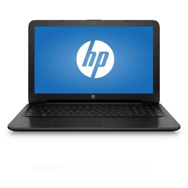 """HP 15-af110nr 15.6"""" Laptop AMD E1-6015 1.4GHz Dual Core 4GB 500GB Windows 10"""