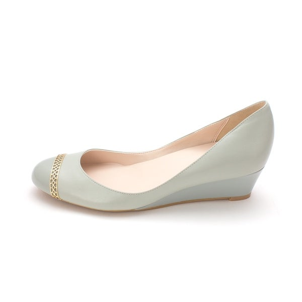 Cole Haan Womens 14A4006 Closed Toe Wedge Pumps - 6