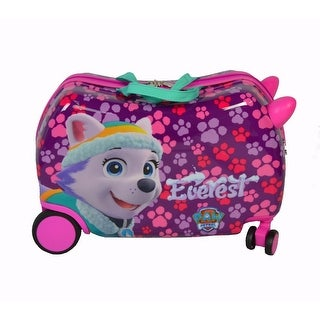 "ATM Luggage Purple Paw Patrol Wheel Carry-On PP ""Everest & Skye"" Cruizer - One size"