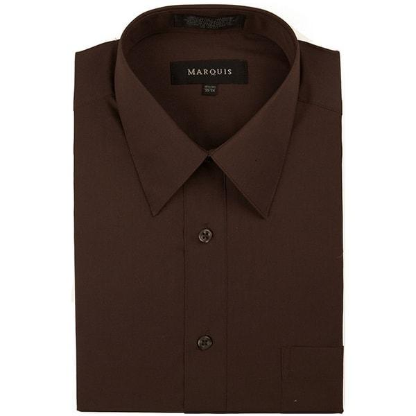 Classic Regular Fit Long Sleeve Point Collar Dress Shirt. Opens flyout.