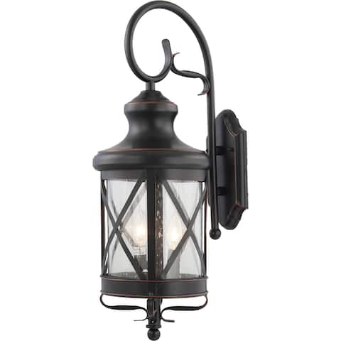 Volume Lighting 4-Light In/Out-door Black Copper Aluminum Wall Sconce