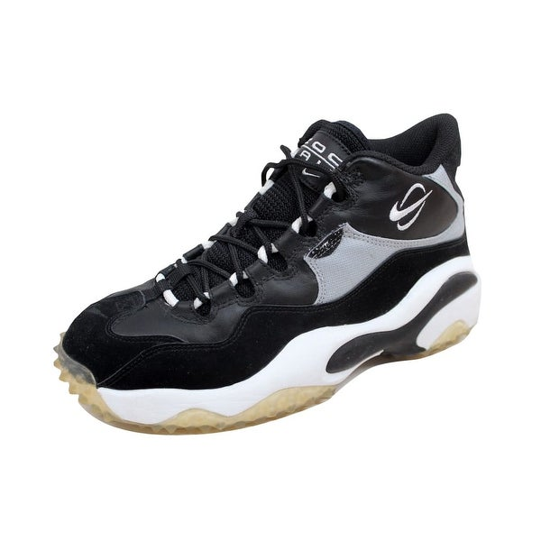 Nike Men's Zoom Turf Training Black/White-Metallic Silver 315099-011