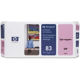 Hewlett Packard C4965A HP 83 Light Magenta Printhead/Cleaner - Light Magenta - I