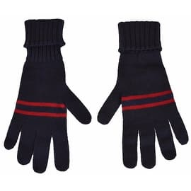 Gucci Men's 294732 Blue Wool Red Web Stripe Gloves Mittens M|https://ak1.ostkcdn.com/images/products/is/images/direct/446b8582d5248b6734ce48e4697b7f553f0a915c/New-Gucci-Men%27s-%24175-294732-Blue-Wool-Red-Web-Stripe-Gloves-Mittens-M.jpg?impolicy=medium