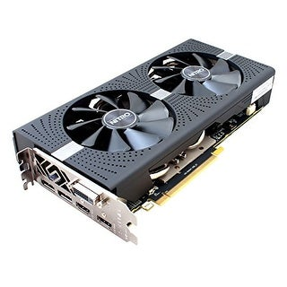 Sapphire 11266-09-20G Radeon Nitro+ Rx 570 8Gb Gddr5 Dual Hdmi / Dvi-D / Dual Dp With Backplate (Uefi) Pci-E Graphics Ca