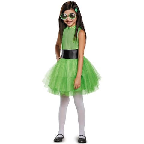 Disguise Buttercup Tutu Deluxe Child Costume - Green