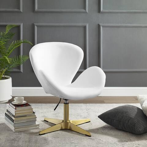 Corvus Ferrell Swivel Lounge Accent Chair