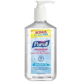 Purell Purell Advanced Instant Hand Sanitizer Gel Citrus Scent, 12 oz