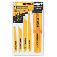 Dewalt Accessories 12 Piece Reciprocating Saw Blade Set  DW4892