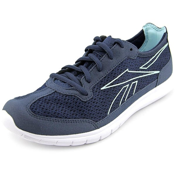 Reebok Sport Ahead Action Rs Women Indigo/White/Cool Breeze Walking Shoes
