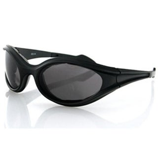 Zan Headgear Foamerz Sunglasses Black Frame Smoked Anti-Fog Lenses