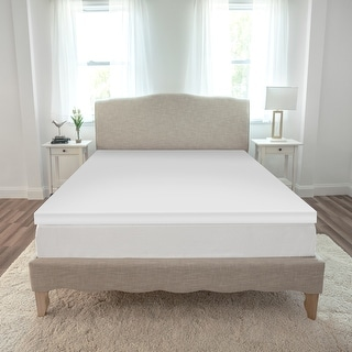 Link to SensorPEDIC Essentials 2-Inch Memory Foam Mattress Topper - White Similar Items in Mattress Pads & Toppers
