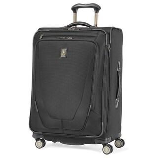 "Travelpro Crew 11 - Black 25"" Nylon Expandable Spinner w/Duraguard Coating & Lifetime Warranty"