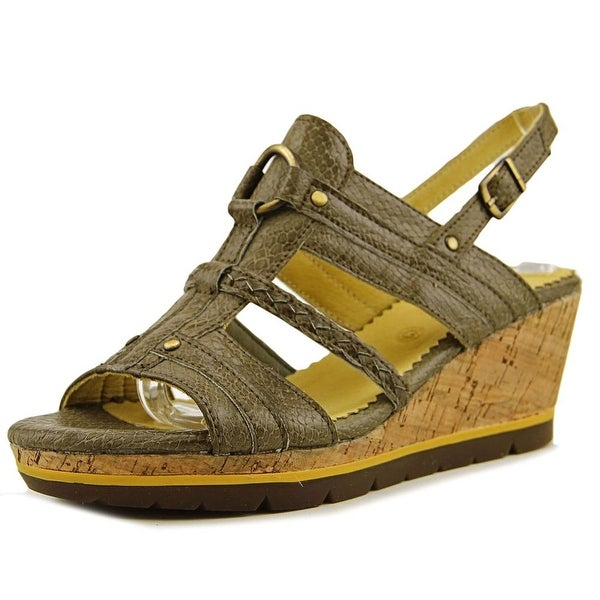 Bussola Style Marseille Women Snake Taupe Sandals