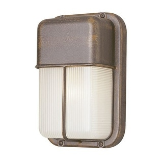 Trans Globe Lighting 41103 Single Light Outdoor Bulk Head from the Outdoor Collection