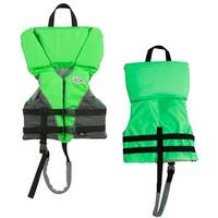 Stearns Child Heads-Up® Nylon Vest Life Jacket - 30-50lbs - Green