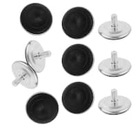 M10x50mmx15mm Iron Adjustable Furniture Leg Table Leveling Foot Pad 10pcs