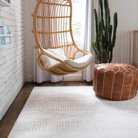 The Curated Nomad Warner Geometric Indoor Area Rug