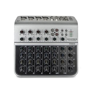 Monoprice 8-Channel Audio Mixer with USB I/O