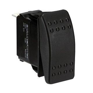 Paneltronics DPDT (ON)/OFF/(ON) Waterproof Contura Rocker Switch-Momentary Configuration - 001-453