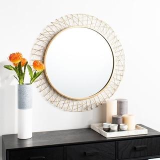 "Link to Safavieh 29"" Elsie Mirror - 28.8"" x 1.3"" x 28.8"" Similar Items in Mirrors"