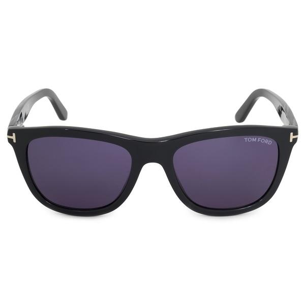 3d629d0ef9 Shop Tom Ford Andrew Wayfarer Sunglasses FT0500 20V 54 - Free ...