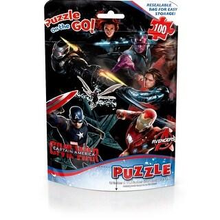 Captain America 100 Piece Puzzle