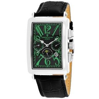 Christian Van Sant Men's Prodigy CV9136 Black Dial Watch