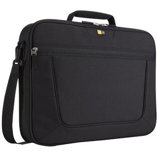 "Case Logic VNCI-215BLACK Case Logic VNCI-215 Carrying Case (Briefcase) for 16"" Notebook - Black - Slip Resistant Shoulder"