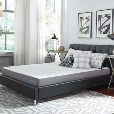 Slumber Solutions 8-inch Gel Memory Foam Choose Your Comfort Mattress