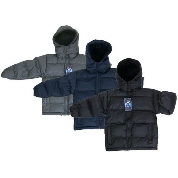 053af3553920 Shop DDI 2122410 Boy s Hooded Winter Jackets Size 4-7 Case of 24 ...